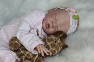 Enchanted Moments Nursery 29 Week Reborn Preemie Baby Girl Elsie May