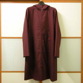 New Eileen Fisher Womens Wool Cotton Hood Jacket Coat S