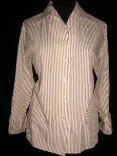 Granata Mens Wear Encinitas Vintage Shirt Poet Collar French Cuff s M