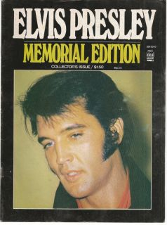 Elvis Presley Memorial Edition Collectors Issue # 3 ,Ideal Magazine