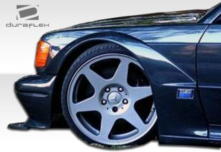 Mercedes E Class W124 4DR Duraflex Evo 2 Widebody Fender Flares  4 Pc