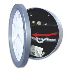 Embassy Working Wall Clock With Hidden Secret Compartment Safe Fast