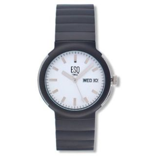 Esq Swiss Mens 07300728 White Dial Gray Watch