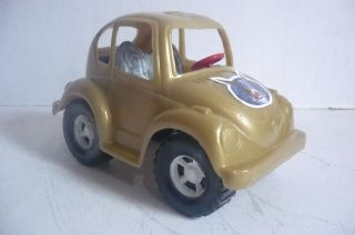 Mexican VW Beetle Custom In 6 different colors Plastic toy Car Made in