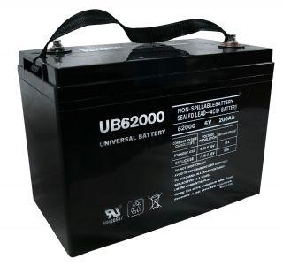 UB62000 6V 200AH Group 27 Golf Cart Solar Panel Pallet Jack