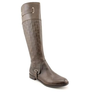 Etienne Aigner Gilbert Womens Size 11 Brown Leather Fashion Knee High