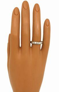 Tiffany Co Etoile Platinum Diamonds Band Ring Size 7 1 4 Retail $2 450