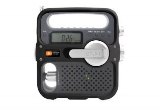 Eton Solarlink FR360 Am FM SW Short Wave Solar Wind Up Portable Radio