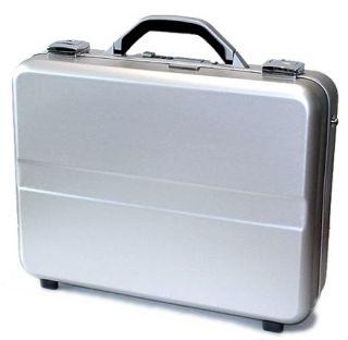 Molded Executive Aluminum Laptop Case Padded Interior