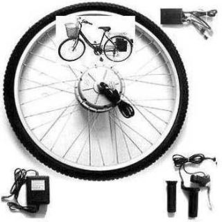 EZ Glide Electric Bike Kit for 26 in Bicycle with Batts