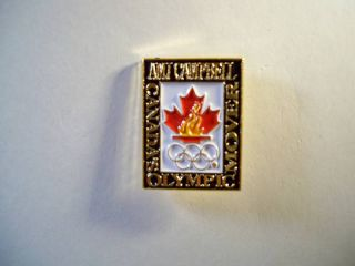 Canadian Olympic Sponsor amj Campbell Pin