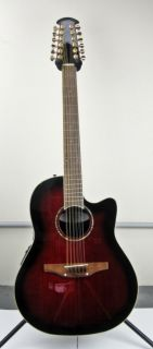 Celebrity CC245 12 String Acoustic Electric Guitar with Free Hard Case