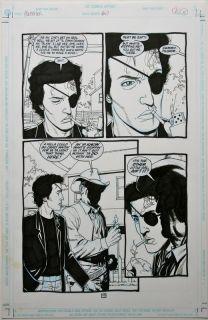 47 Page 10 Original Art Garth Ennis Steve Dillon No Reserve