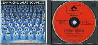 Jean Michel Jarre Equinoxe West Germany CD Red Face Label Polydor RARE