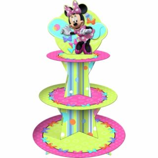 Hallmark 221949 Disney Minnie Mouse Bow tique Cupcake Stand