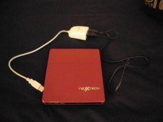 Nexxtech External DVD CD Drive Burner