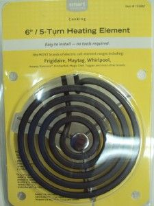 turn stove range electric coil heating element