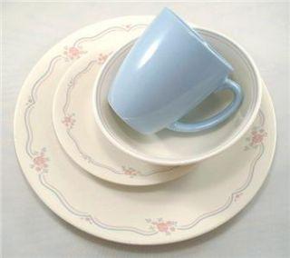 16pc Corelle English Breakfast Dinnerware Set HTF New