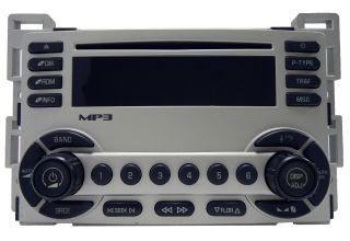 2005 05 Chevy Chevrolet Equinox Radio Stereo  CD Player 10384399
