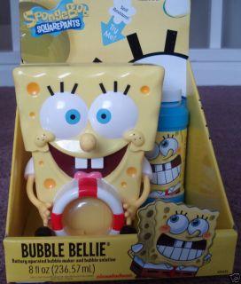 Nickelodeon Spongebob Elecronic Bubble Maker Belle New