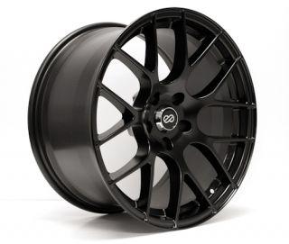 ENKEI RAIJIN Black 18x8.5 5x114.3 +38 TUNING Series Wheel/Rim
