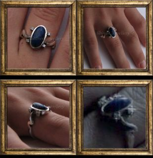 The Vampire Diaries Elenas Daylight Sun Protection Ring Real Lapis