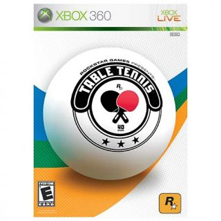 101 7726 xbox360 table tennis rockstar games xbox 360 rating be the