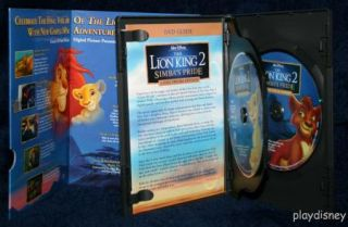 Walt Disney DVD The Lion King 2 2 Disc Special Edition