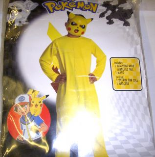 Pokemon Pikachu Costume Boys XL 14 16 NIP