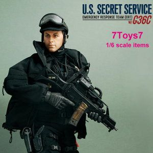 Hot Toys 1 6 Secret Service ERT M Tactical Vest Police