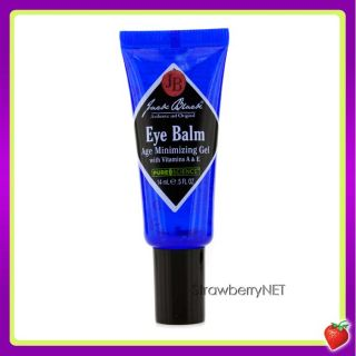 Jack Black Eye Balm Age Minimizing Gel 14ml 0 5oz New