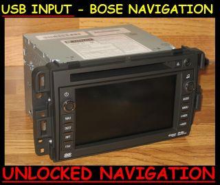 2010 2012 GM Chevy Tahoe Yukon Navigation DVD Radio USB
