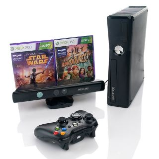 Xbox 360 Kinect 4GB Console Star Wars Game Bundle
