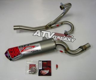 Big Gun EVO Full Exhaust Pipe Honda XR600 XR650 XR