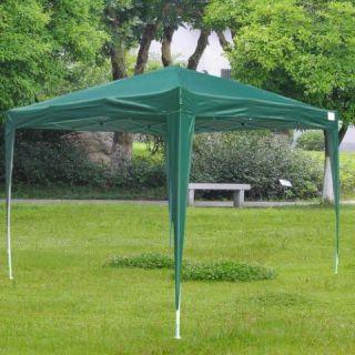 Peaktop 10 x 10 EZ Set Pop Up Party Tent Wedding Canopy Gazebo