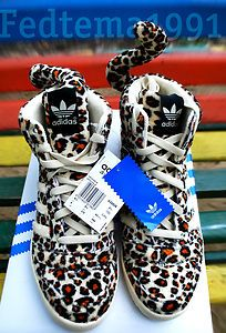 Adidas Jeremy Scott Leopard V24536 Without Box Panda Wings Flover