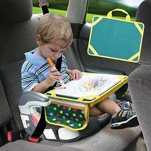 Childrens Lap Desk Kids Car Travel Writing Table