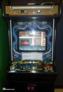Taitos Double Dragon Arcade Machine Great Shape Look