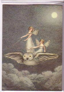 Fairy Birthday Cards Amelia Jane Murray Set of 2 Vintage Reproductions