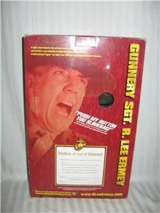 Gunnery Sgt. R. Lee Ermey 12 inch talking figure made by SIDESHOW.