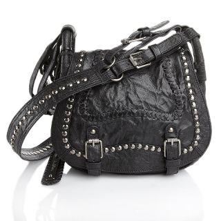 Sam Edelman Loren Studded Leather Saddle Bag