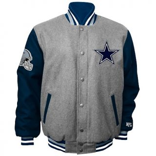 130 577 football fan dallas cowboys wool blend varsity jacket