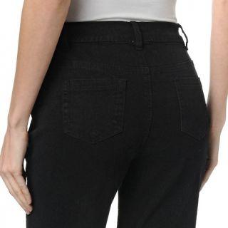 Diane Gilman DG2 Embellished Studded Denim Boot Cut Jeans