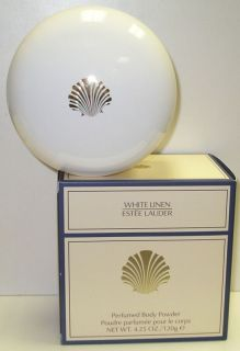 White Linen Estee Lauder Perfumed Body Powder 120 G