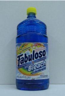 Fabuloso w Bleach Multi Purpose Cleaner Spring Fresh 44 Oz
