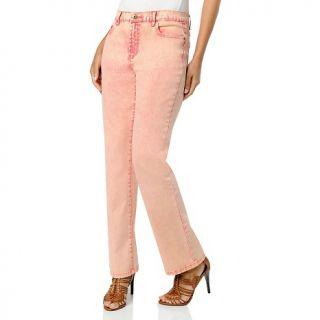 123 617 diane gilman marbled denim straight leg stretch jeans note