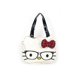 Loungefly HELLO KITTY DIE CUT FACE NERDS Glasses Bag purse Handbag