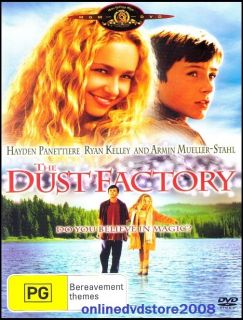 The DUST FACTORY   Hayden Panettiere FAMILY Magic Drama MOVIE DVD (NEW