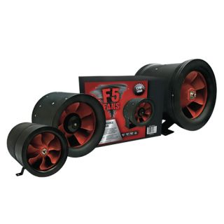 Inline Fan Hydroponic Air Ventilation for Carbon Filters Grow
