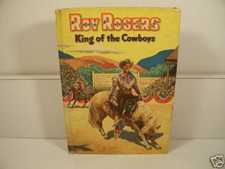 Roy Rogers King of The Cowboys Book by Cole Fannin